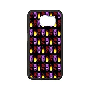 kimcase Custom Emoji 100 Cover for Samsung Galaxy S6