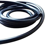 Moto essence Tuyau caoutchouc nitrile flexible de carburant 8 mm Diamètre extérieur: 5 mm-Diamètre du trou: 3 m