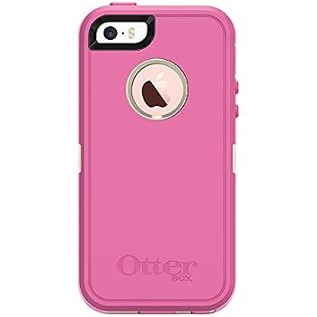OtterBox DEFENDER SERIES for iPhone 5/5s/SE - Retail Packaging - BERRIES N CREAM (SAND/HIBISCUS PINK)