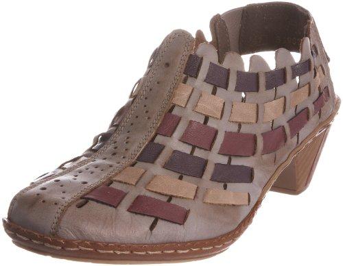 Rieker Sina 46778-62 - Zapatos de vestir para mujer Marrón