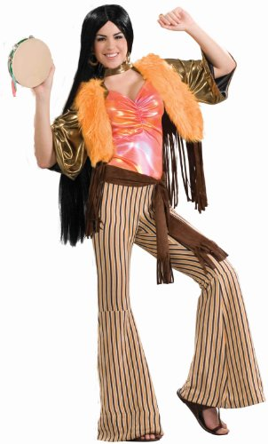 Forum 60's Revolution Groovy Gal Costume, Multi, One -