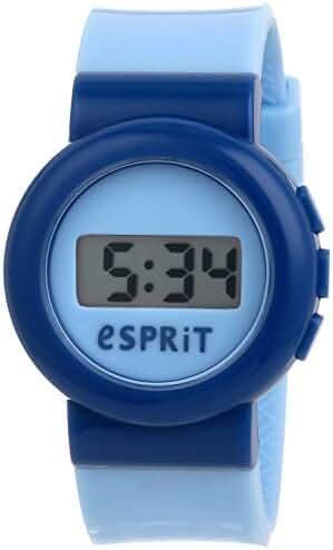 Esprit Watch Digital Swap Blue - ES105264001-Blue - Plastic-Round - 34 mm