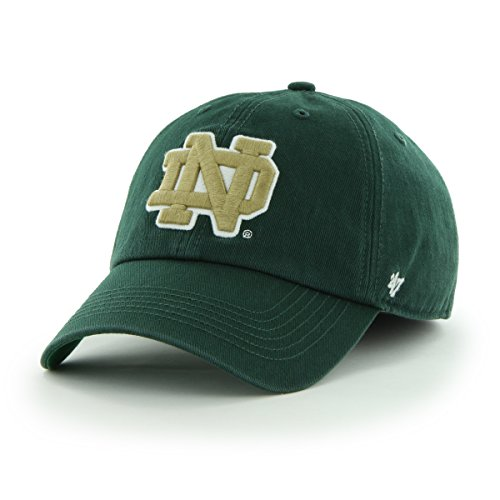 Fighting Irish Franchise Fitted Hat, Dark Green, Large (Franchise Green)