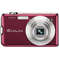 Casio Exilim EX-S10RD 10.1MP 3x Zoom 2.7-Inch LCD Screen Digital Camera (Red) At A Glance Review Image
