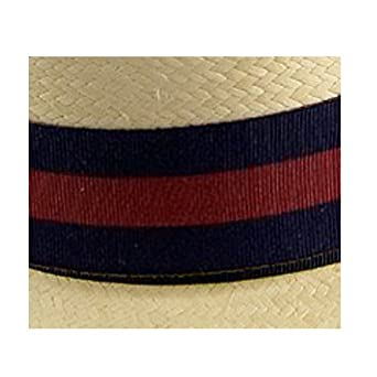 Olney clásica Brim Panama Sombrero de Paja Blanco Marine ...