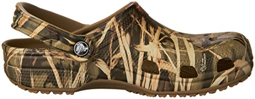 Pictures of Crocs Men's and Women's Classic Realtree Clog  | Comfort Slip On Camo Casual Shoe | Lightweight 3