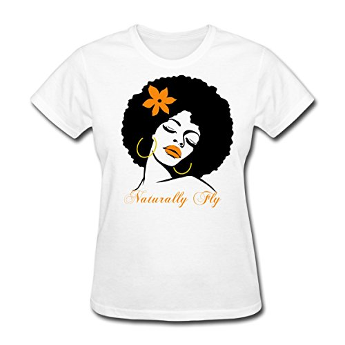 Spreadshirt Afro Diva Naturally Fly Womens T-Shirt