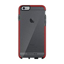 Tech21 Evo Mesh for iPhone 6/6S Plus - Smokey/Red