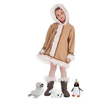LLOPIS - Disfraz Infantil Esquimal niña t-2: Amazon.es: Juguetes y ...