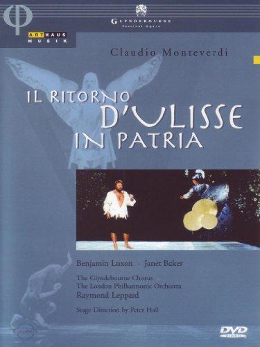 Monteverdi - Il Ritorno d'Ulisse in Patria / Benjamin Luxon, Janet Baker, Robert Lloyd, Richard Lewis, Anne Howells, Raymond Leppard, Glyndebourne Opera