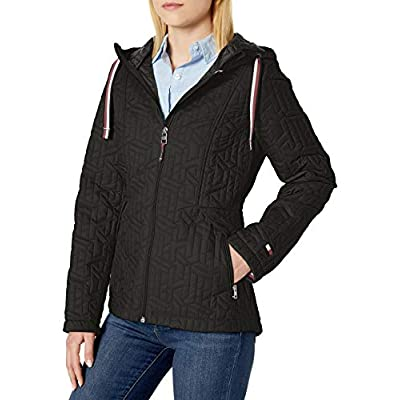 Tommy Hilfiger Women's Packable Logo Quilted Jacket at Women's Coats Shop