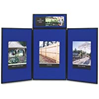 QRTSB93513Q - Quartet ShowIt Three-Panel Display System