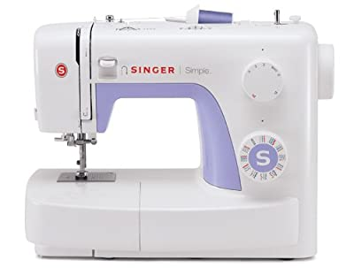 Singer 3232 Simple Sewing Machine with Automatic Needle Threader, 32 Stitches