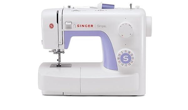 SINGER Simple Máquina de coser, Violeta, Blanco: Amazon.es: Hogar
