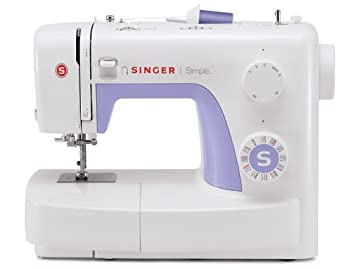 Top Rated Sewing Machines 2020.Singer Simple 3232 Portable Sewing Machine With 32 Built In Stitches Including 19 Decorative Stitches Automatic Needle Threader And Free Arm Best