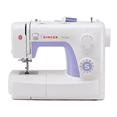 Singer 3232 Simple Portable Electric Sewing Machine with Automatic Needle Threader, 32 Stitches