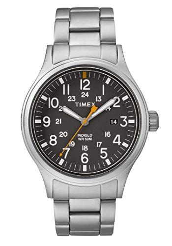 Timex Allied Grey Dial Stainless Steel Men's Watch TW2R46600