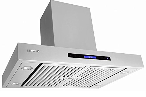 XtremeAir Pro-X Series PX06-I36, 36'' Wide, Easy Clean swing-able baffle Filters, Stainless Steel, Island Mount Range Hood by XtremeAIR (Image #5)