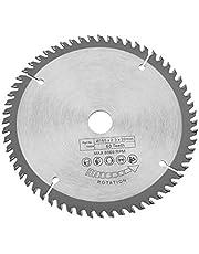 Sågklinga skär, 165 mm silver TCT cirkelsågblad för träskärning 60 tänder 1 styck reduceringsringar