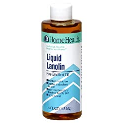 Home Health Liquid Lanolin, 4 Ounce