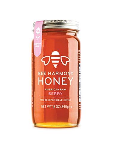 Bee Harmony, Honey American Berry, 12 Ounce