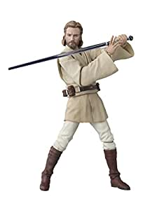 S.H.Figuarts Star Wars Obi-Wan Kenobi About 150mm Painted Action Figure (Attack Of The Clones)