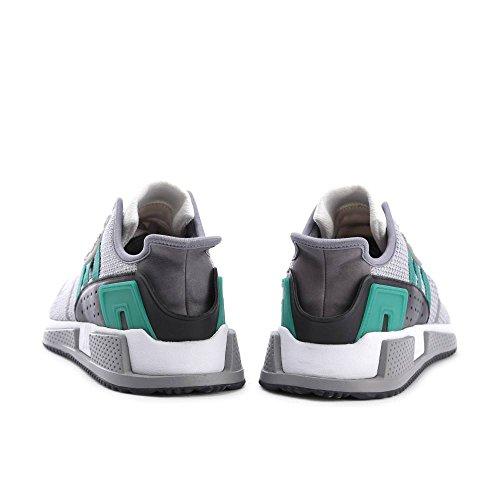 Adidas Originali Mens Eqt Cushion Adv Scarpe Da Corsa Grigio / Verde / Bianco