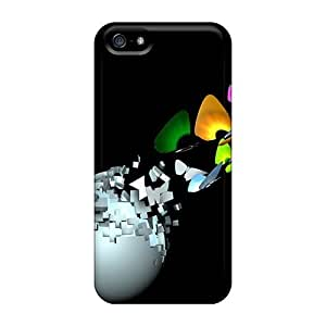Butterfly 3d CasesCase For Htc One M9 Cover / Hot Protection Cases Black Friday