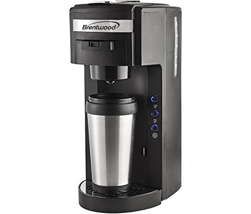 Brentwood Appliances TS-114 K-Cup Coffee Maker, White