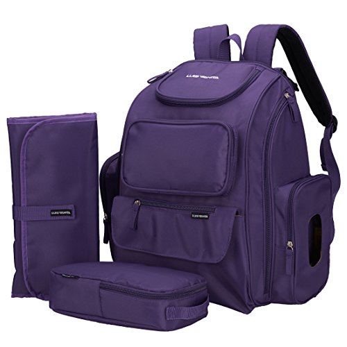 luisvanita-baby-diaper-bag-backpack-w-stroller-straps-and-changing-mat-and-pouch