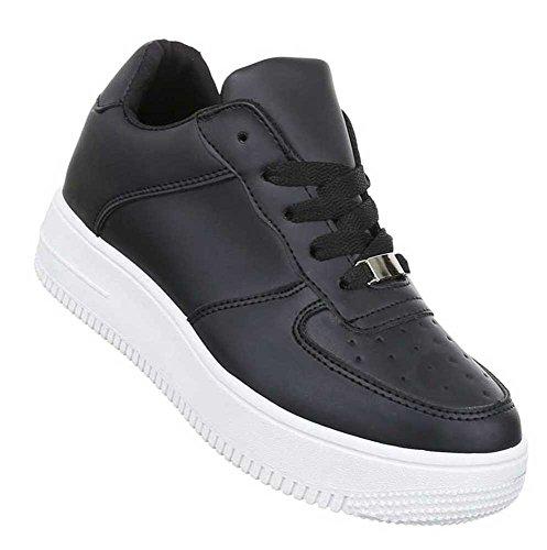Damen Freizeitschuhe Schuhe Low-Top Sneaker Sportschuhe Streetwear Schwarz Blau Weiszlig; 36 37 38 39 40 41