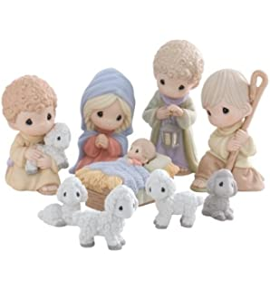 Amazoncom 2013 Precious Moments Exclusive 6 Piece Nativity Set