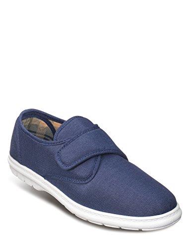Herren-Touch-Befestigung Schuhe Marine