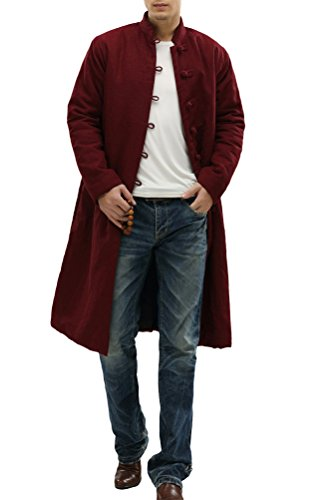 Long Mens Overcoat - 4
