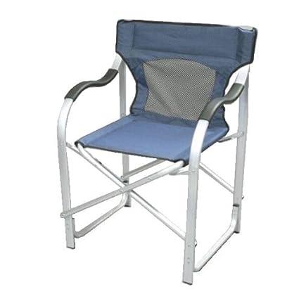 Faulkner The Director?s Chair Blue  sc 1 st  Amazon.com & Amazon.com: Faulkner The Director?s Chair Blue: Garden u0026 Outdoor