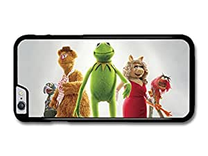 The Muppets Portrait with Kermit Miss Piggy Animal Fozzie Bear Gonzo case for iPhone 4s