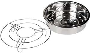 Secura 6-quart Electric Pressure Cooker Steam Rack Basket Set