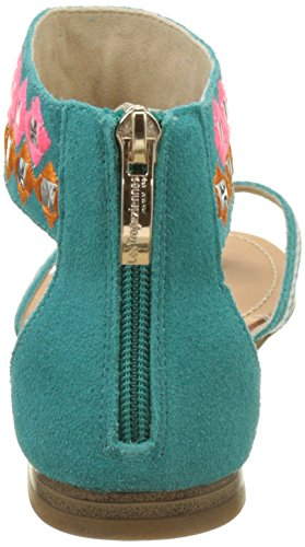 Turquoise Cheville GALACTIK Tropéziennes par Bride Les Turquoise Femme Belarbi M nxgzOA