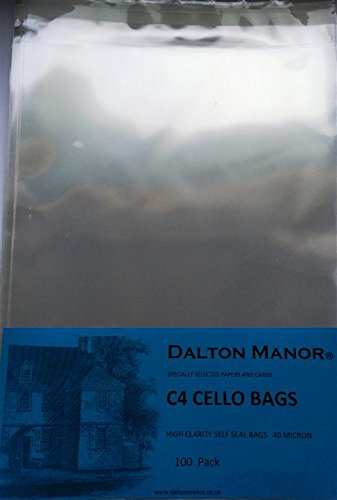 CRYSTAL CLEAR OF CELLO 100 BAGS PACK C4 100 wH4xSFHq