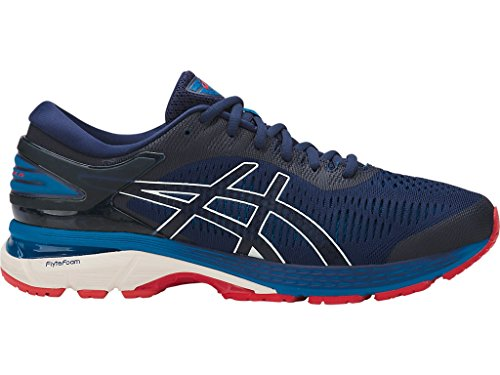 ASICS Men's Gel-Kayano 25 Running Shoes, 10M, Indigo Blue/Cream