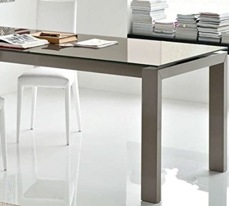 Tavolo Allungabile Vetro Calligaris.Calligaris Connubia By Tavolo Allungabile Sigma Glass Cs 4069 Lv