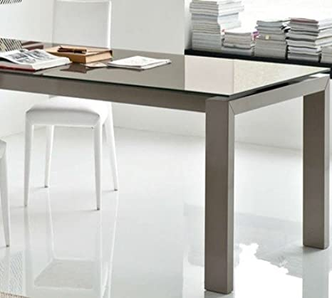 Calligaris Connubia by Tavolo Allungabile Sigma Glass CS/4069-LV 180 ...