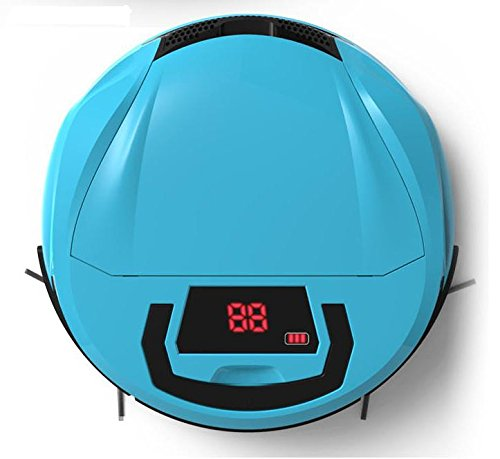 Intelligent robot sweep, ultra-thin home recharge automatically sweeping machines, vacuum cleaner , blue