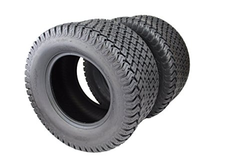 Set of Two New 24x12.00-12 4 Ply Turf Tires for Lawn & Garden Mower (2) 24x12-12