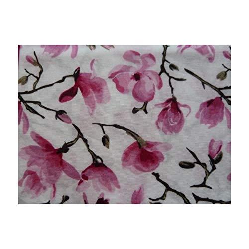 Mouchoir Unique Taschentuch Weiß Multicolore Magnolien Boutique Pink Femme Ein Taille ww5cqn4rS