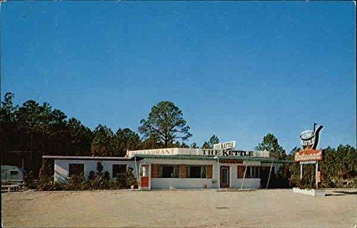 The Kettle Restaurant Jacksonville, Florida Original Vintage Postcard