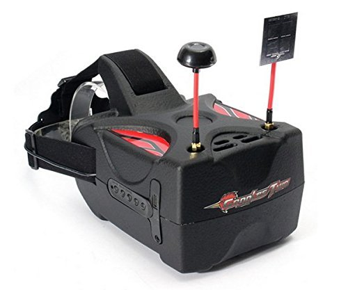 Eachine 5.8G FPV Goggle 2 5 Inches Diversity 40CH Raceband HD 1080p HDMI FPV Goggles Two Video Glasses