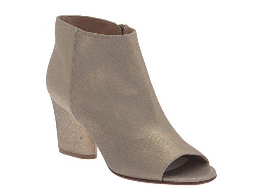 Maison Margiela Women's S38WP0382SY0085BEIGE Beige Leather Ankle Boots djeEtFgct