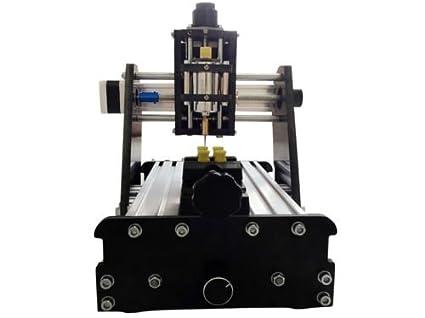 Jian Ya Na CNC fresado Mini máquina de Grabado del Eje 3 Talla Grabador de DIY con la Cabeza láser 1000mw: Amazon.es: Hogar
