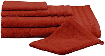 Kleine Wolke 3003488226 Royal Serviette de Bain Orange 70 x 140 cm